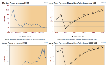 United States Long Term Forecast: Natural Gas Prices to 2020
