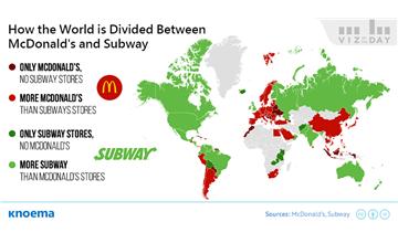 McDonald's vs Subway: Which Has the Bigger Restaurant Chain